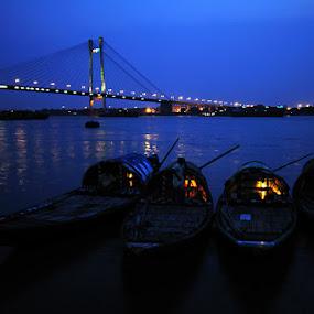 Twilight in Kolkata by Debdatta Chakraborty - Landscapes Travel ( travel )