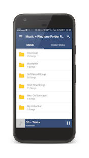 Music + Ringtone Folder Player- screenshot thumbnail