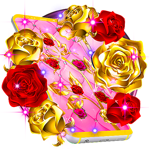 Golden And Red Roses Live Wallpaper Android APK Download Free By MX Apps