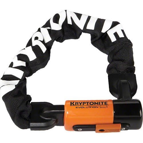Kryptonite 1055 Evolution Mini Series 4 Chain Lock: 1.8' (55cm)