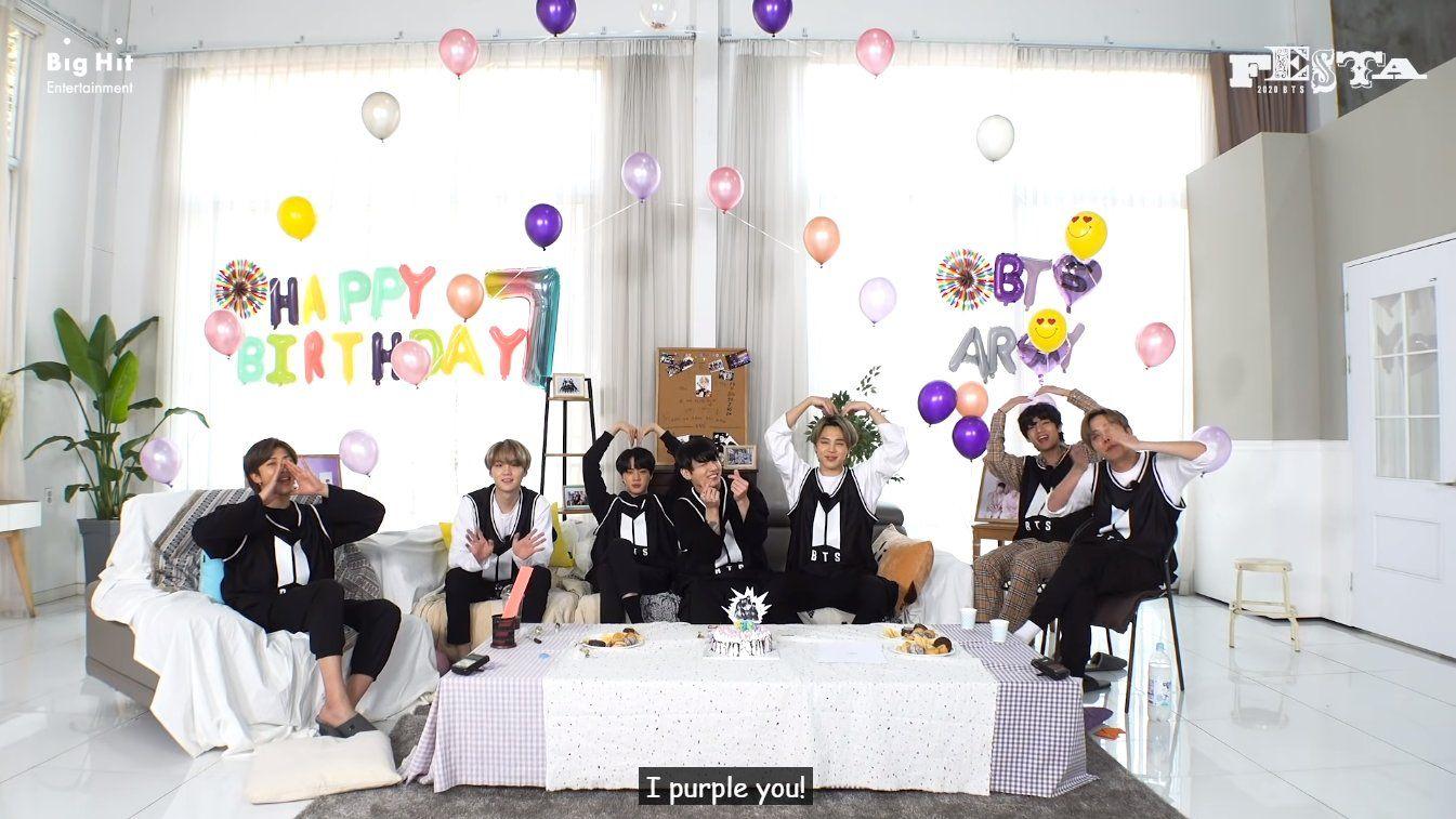 BTS vilve bday party