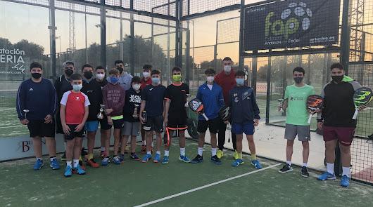 Los nuevos campeones de Almería de pádel