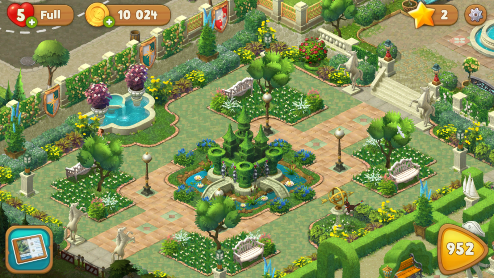 Gardenscapes - New Acres – Screenshot