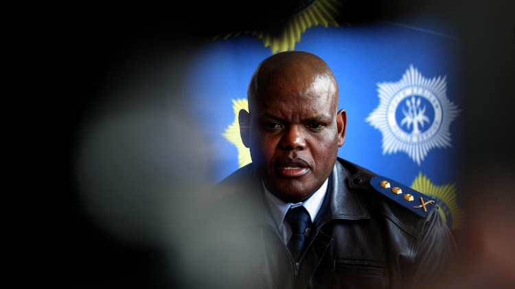 Former acting national police commissioner Khomotso Phahlane