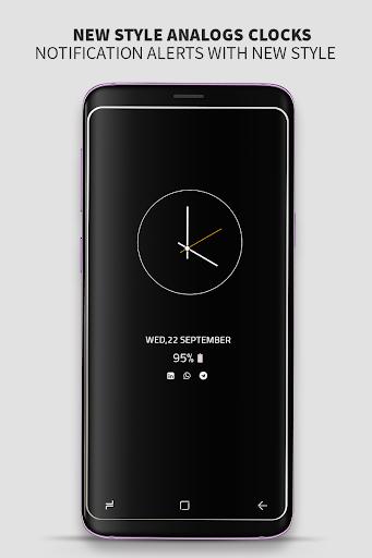 Always on Display photo clock : Super-amoled screenshot 4
