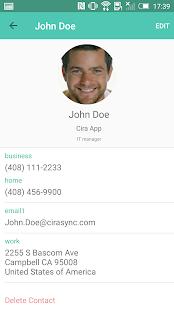 CiraSync Public Folder App for Office 365 - náhled