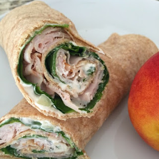Crunchy Turkey Spinach Wraps