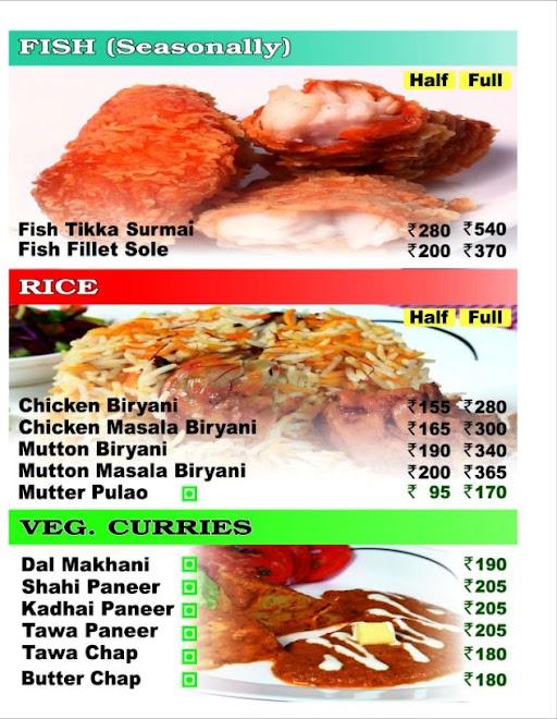 Nazeer Foods menu 5