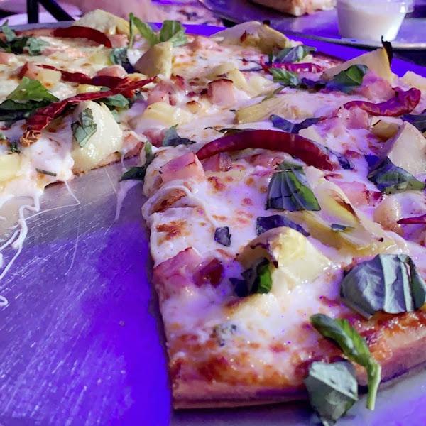 Aphrodisiac (+ Ham) GF large pizza (14 in) 😊