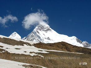 Photo: Nandadevi East and Main from Changuch ice-field