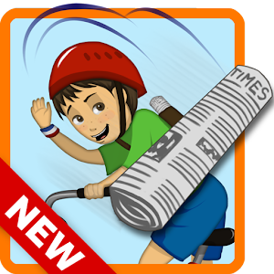 PaperBoy:Infinite bicycle ride for PC and MAC