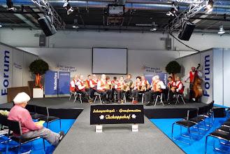 Photo: Eine wunderbare Vortragsbühne. Wir sind stolz, dass wir hier auftreten dürfen.