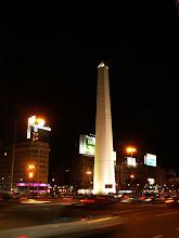 Photo: Buenos Aires, Avenida 9 de Julio i Obelisk