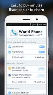 World Phone screenshot 01