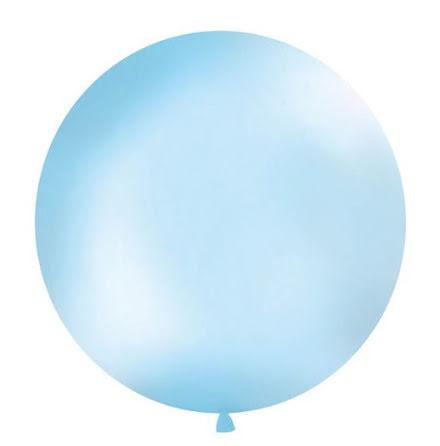 Jätteballong Himmelsblå