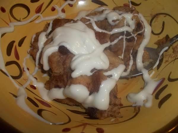 Crockpot Cinnamon Bread - Bread Pudding Recipe