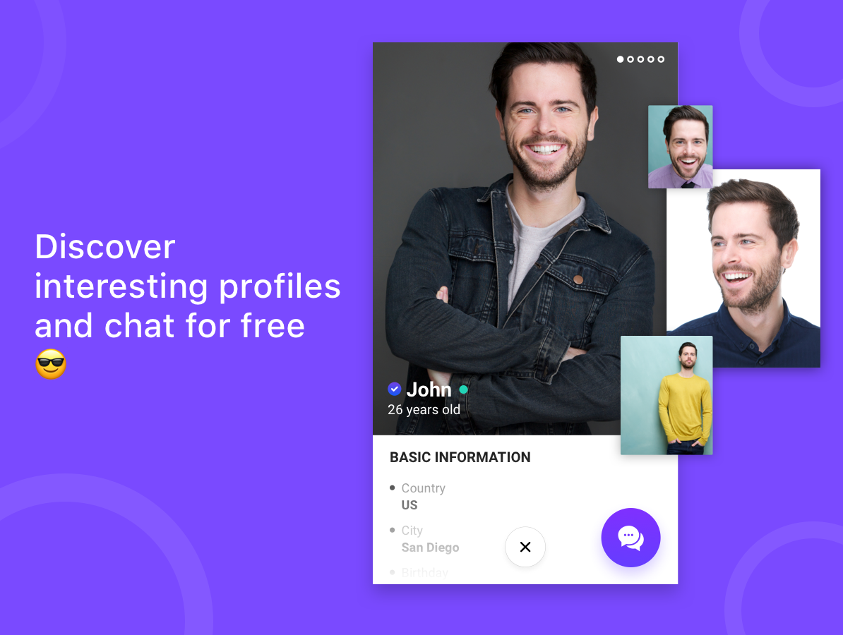 Hily - free dating app to meet people and chat- screenshot