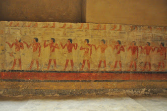 Photo: wall painting inside of tomb