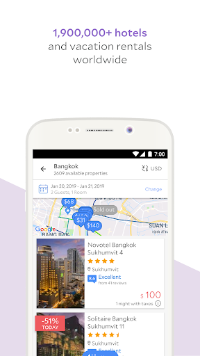 Screenshot for Agoda – Hotel Booking Deals in Hong Kong Play Store