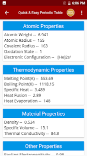 Download periodic table of chemical elements chemistry app for pc download periodic table of chemical elements chemistry app for pc windows and mac apk screenshot 4 urtaz Gallery