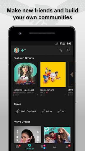 Palringo Group Messenger screenshot 1