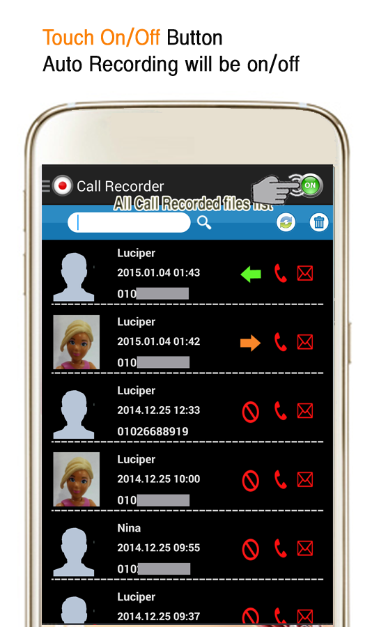 Auto Call Recorder : Auto call recorder mp record android apps on google play