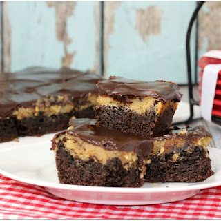 Peanut Butter Chocolate Ooey Gooey Bars