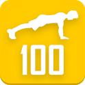 100 Push-ups workout icon