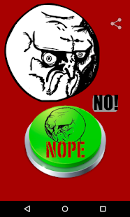 Nope Meme button - náhled