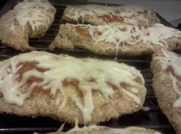 Crispy Baked Chicken Parmesan Recipe