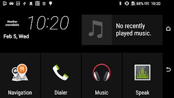 screenshot of HTC MirrorLink