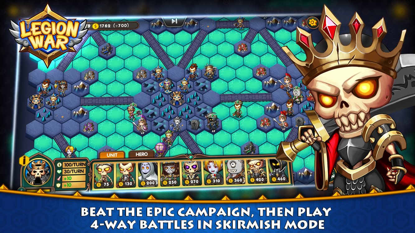 Legion War - Tactic & Strategy- screenshot