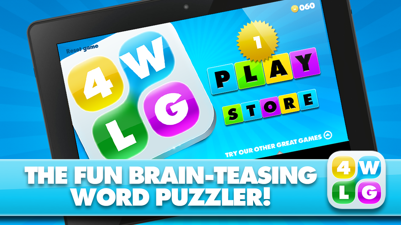 Four Word Link Game- screenshot