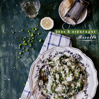 Peas and Asparagus Risotto Recipe