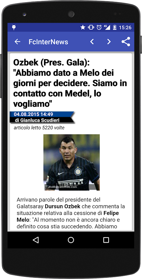 Fc Inter News- screenshot