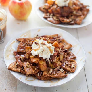 Apple Pie Nachos.
