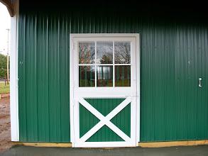Photo: Aluminum Dutch Door