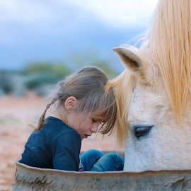 My little pony  by Chrismari Van Der Westhuizen - Babies & Children Children Candids ( children, kids portrait, animal, pet, horses, kids )