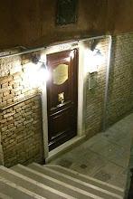Photo: Our hotel door