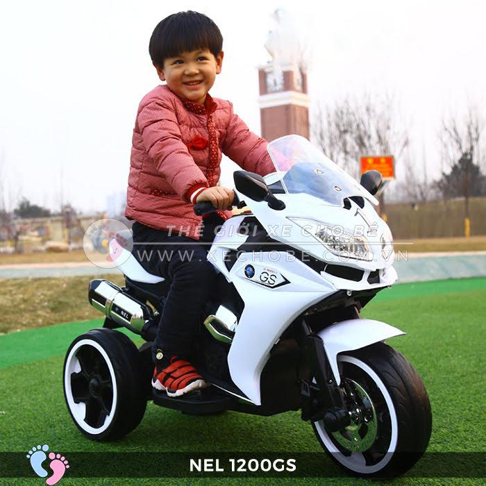 Moto điện 3 bánh cho bé NEL-1200GS 4