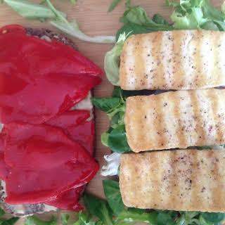 Griddled Tofu Sandwich.