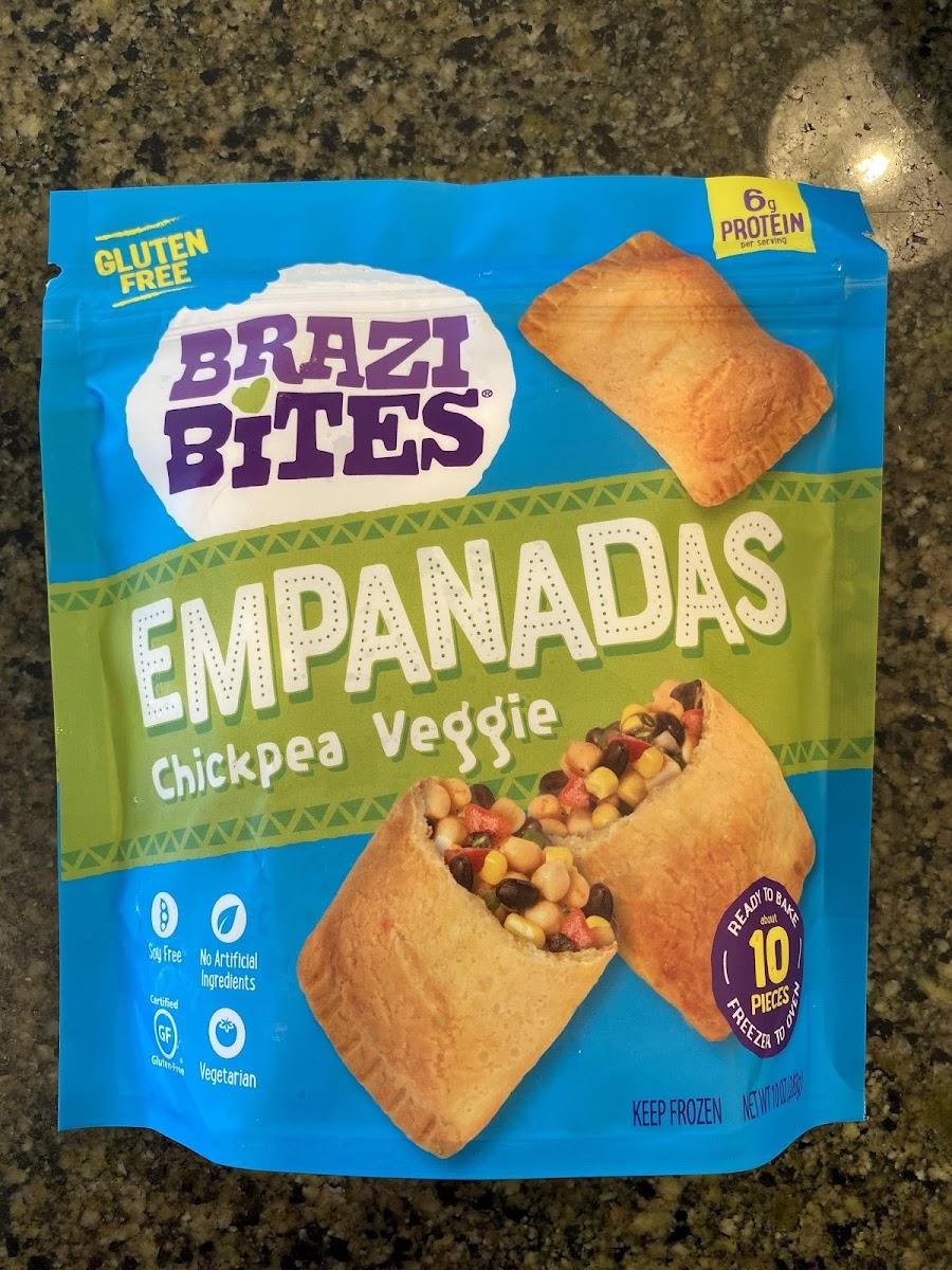 Chickpea Veggie Empanadas