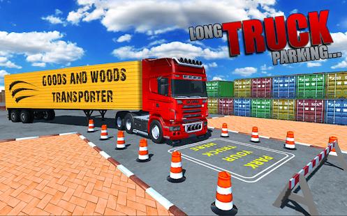 Long Truck Parking Simulator - náhled