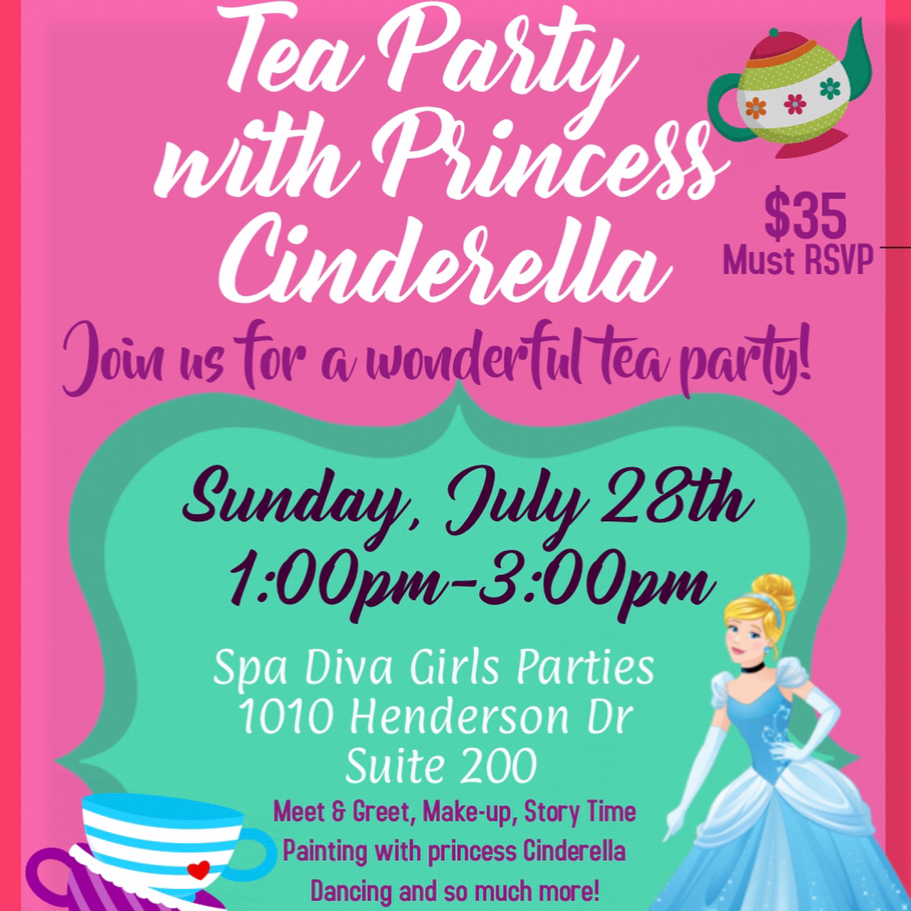 Spa Diva Girls Parties - Kids Day Spa and Party Place in