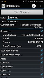 Code Barcode Scanner Driver screenshot 0