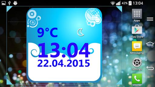 Weather Clock Widget  screenshots 7