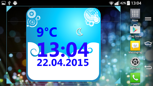 Weather Clock Widget screenshot 6