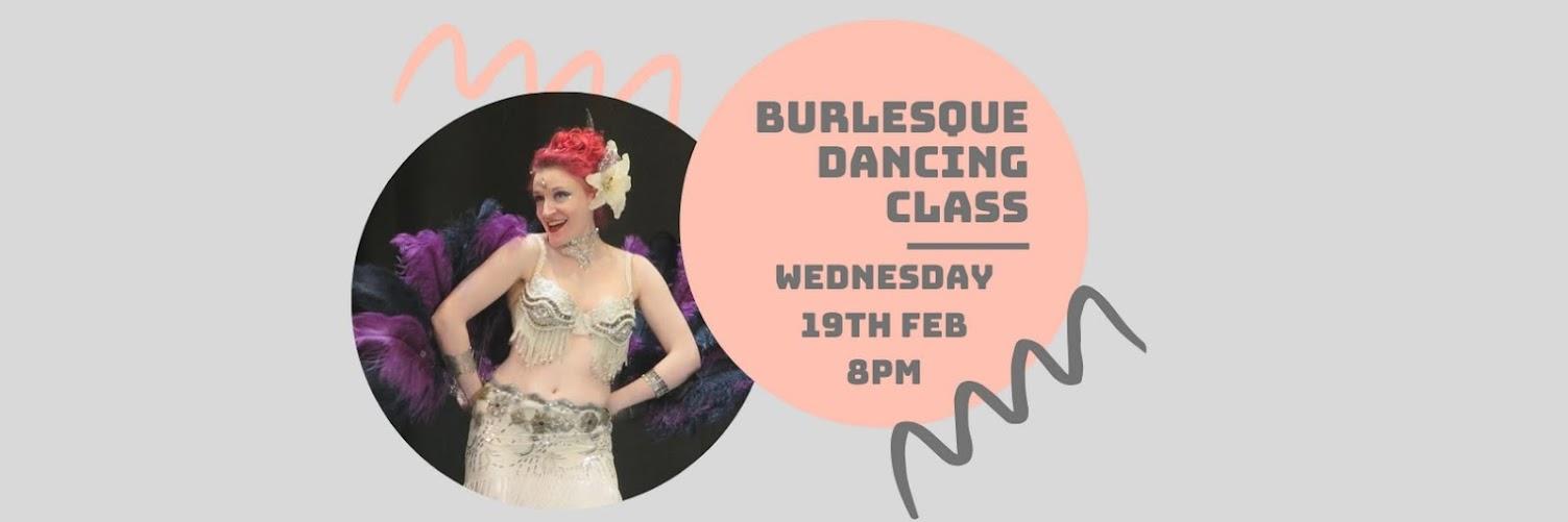 Burlesque Dancing Class