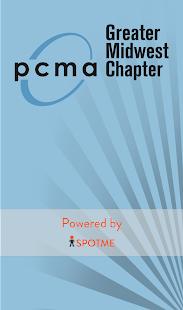 GMC PCMA Chapter App - náhled