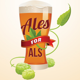 Logo of Stone's Throw Pale Ale for ALS